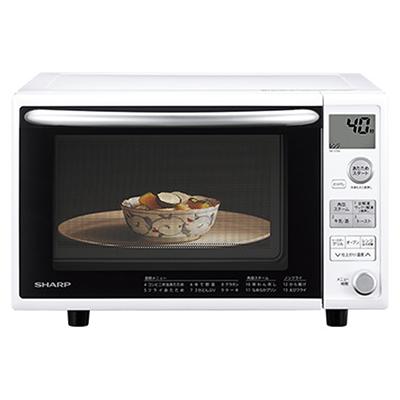 RE-V70A-W オーブンレンジ ※5 【送料無料】【カードOK】 シャープ ・総庫内容量:20L(1段調理)・角皿スチームで、メニュー広がる・おいしくてヘルシー。カンタンにノンフライ調理・外はこんがり、中はしっとり自動トースト