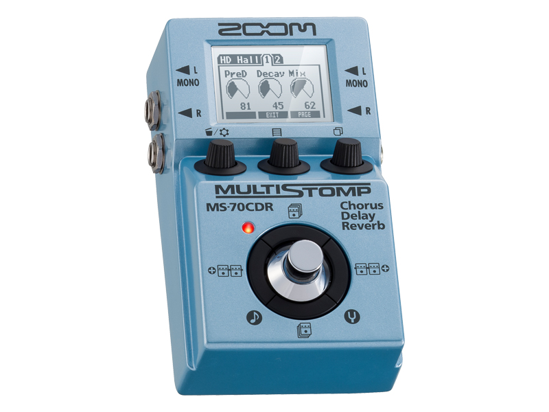 期間 数量限定特価 セール特価 在庫有り 即出荷 ZOOM 空間系マルチ エフェクター delay セール MULTI MS-70CDR reverb chorus STOMP KK9N0D18P
