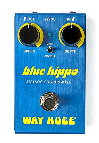 【在庫あり・即日出荷】【送料込み】WAY HUGE 【ウエイ・ヒュージ】WM61 (WM-61) / SMALLS BLUE HIPPO ANALOG CHORUS (ブルー・ヒッポ・アナログ・コーラス) コーラス / ヴィブラート 【KK9N0D18P】