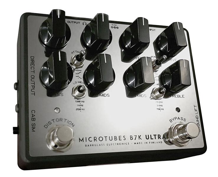 """【在庫あり、即日出荷】Darkglass Electronics / Microtubes B7K Ultra v2 """"Mirror """" limited edition ダークグラスエレクトロニクス / マイクロチューブス ビーセブンケー ミラベースオーバードライブ/プリアンプ【限定品】【国内正規品】【KK9N0D18P】"""