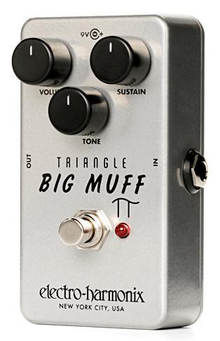 【在庫あり・即日出荷】【正規輸入品】electro-harmonix Triangle Big Muff Pi 《ディストーション/サスティナー》Nano Big Muff (Distortion/Sustainer)エレハモ / トライアングル・ビッグ・マフ【KK9N0D18P】