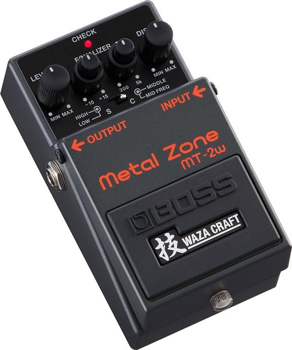 【送料無料!】BOSS《技 WAZA CRAFT》MT-2W Metal Zone (メタルゾーン) 日本製