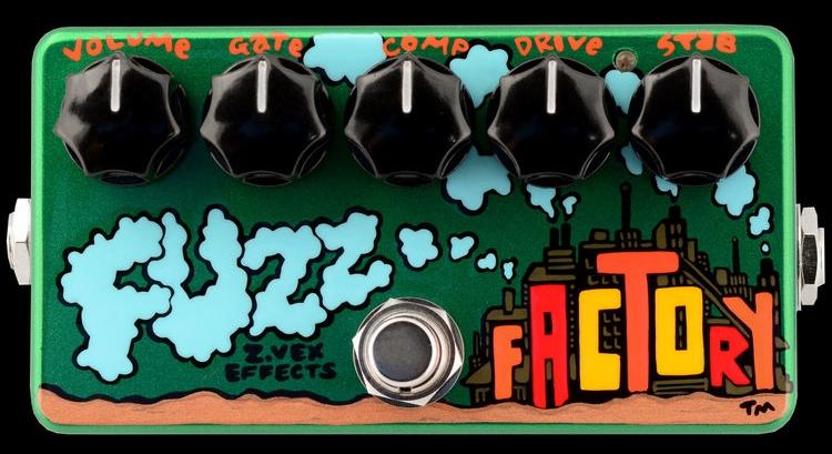 【お買い物マラソン実施!9日20:00~16日1:59迄】ZVEX (z.vex) Fuzz Factory FUZZ
