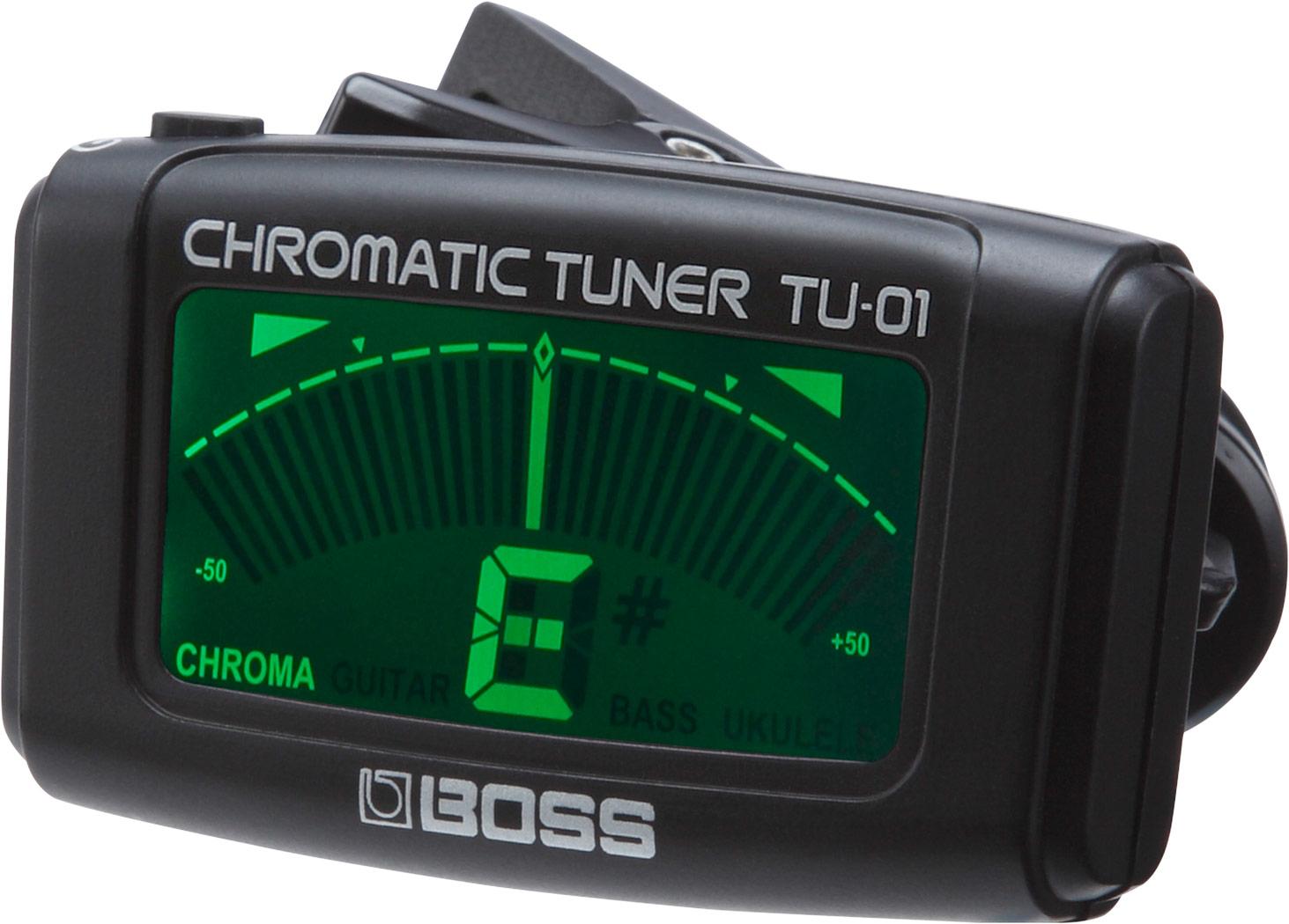 在庫あり 即日出荷 毎日続々入荷 BOSS TU-01 クリップ オン‥クロマティック KK9N0D18P TU01 Clip-on ランキングTOP10 チューナー Tuner Chromatic