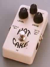HOT CAKE 3KNOB《オーバードライブ/ディストーション》『プレゼンスコントロール可能』
