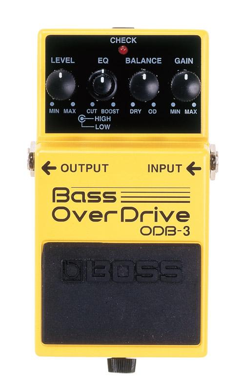 【送料無料!】BOSS《ベース・オーバードライブ》ODB-3