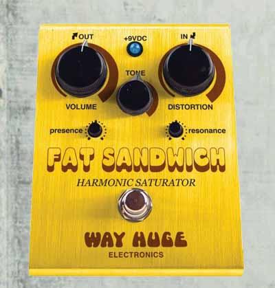 【送料無料!】WAY HUGE 【ウエイ・ヒュージ】WHE-301/ FAT SANDWICH Harmonic Saturator DISTORTION ディストーション【在庫有り・即出荷!】 【KK9N0D18P】