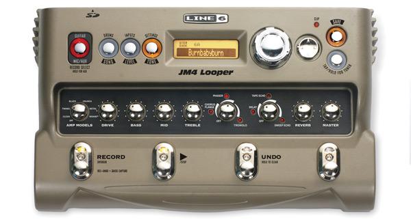 LINE6 JM4 Looper《ルーパー/プレイ&レコーディングツール》 【KK9N0D18P】