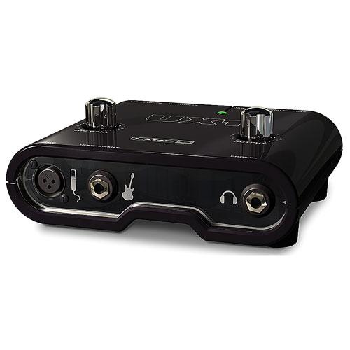 LINE6 《 USB-オーディオ・インターフェイス & アンプシュミレーター》 POD STUDIO UX1