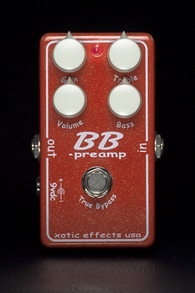 Xotic《之前放大器/升压器》BB-preamp 2010 Limited Color Edition