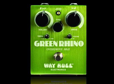 【在庫有り・即出荷】【送料込み】WAY HUGE 【ウエイ・ヒュージ】WHE-202/ GREEN RHINO Mk ll (グリーン・ライノ) OVERDRIVE オーバードライブ 【KK9N0D18P】