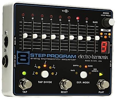 【正規輸入品】electro-harmonix 《アナログ・エクスプレッション/CVシーケンサー》#8 Step Program エレハモ / エイト・ステップ・プログラム