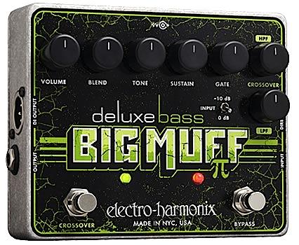 【正規輸入品】electro-harmonix 《ベース・ディストーション》Deluxe Bass Big Muffエレハモ / デラックス・ベース・ビッグ・マフ