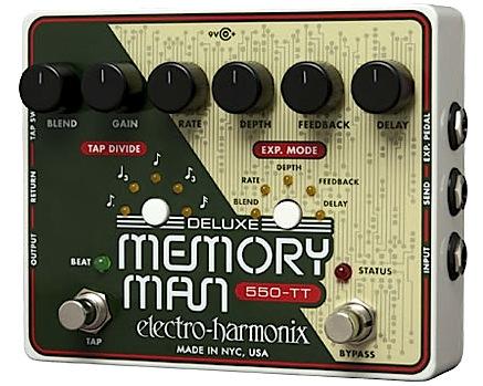 【正規輸入品】electro-harmonix 《タップテンポ・アナログディレイ》Deluxe Memory Man 550-TTエレハモ / デラックス・メモリーマン