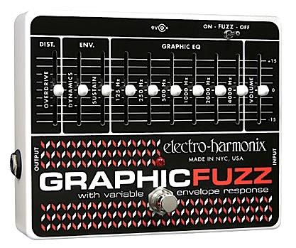 【正規輸入品】electro-harmonix 《イコライザー+ファズ》Graphic Fuzz エレハモ / グラフィック・ファズ