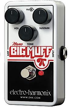 【在庫あり・即日出荷】【正規輸入品】electro-harmonix 《ディストーション》Nano Big Muff エレハモ / ナノ・ビッグ・マフ【KK9N0D18P】