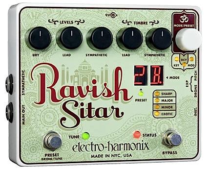 【正規輸入品】electro-harmonix 《シタール・エミュレーター》Ravish Sitar エレハモ / ラヴィッシュ・シタール
