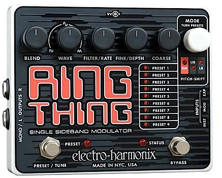 【正規輸入品】electro-harmonix/ 《リング・モジュレーター》Ring Thing エレハモ/ エレハモ リング Thing・シング, bonico (ボニコ):70640e43 --- jphupkens.be