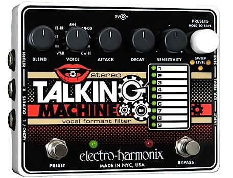 2019公式店舗 【正規輸入品 Talking】electro-harmonix 《ボーカル/・フォルマント・フィルター》Stereo Talking Machine エレハモ/ エレハモ ステレオ・トーキング・マシーン, テスラ:db96887f --- canoncity.azurewebsites.net
