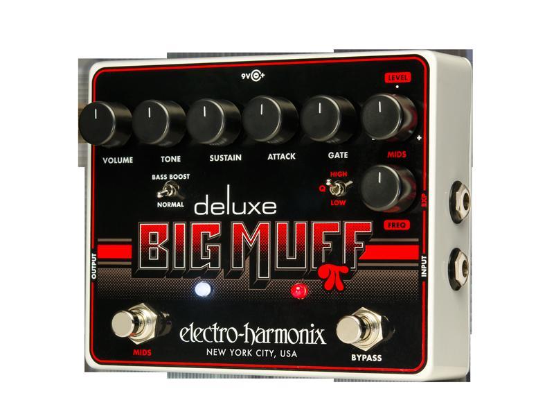 【正規輸入品】electro-harmonix 《ディストーション&ファズ》Deluxe Big Muff Original (U.S.A)エレハモ・デラックス・ビッグ・マフ