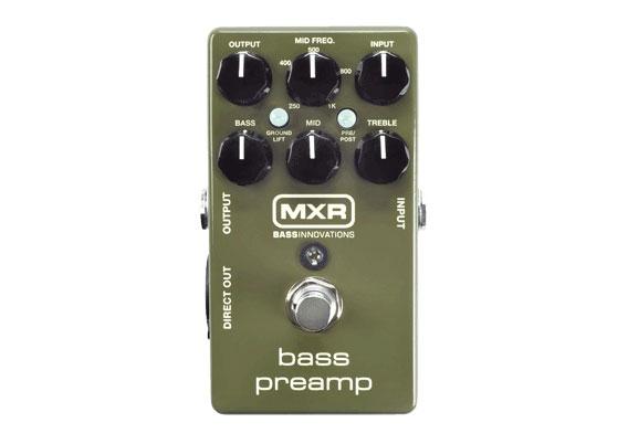 【在庫有り・即出荷】◆新定番◆ MXR M-81 (M81) basspreamp ベース・プリアンプ 《国内代理店・正規輸入品》 【KK9N0D18P】