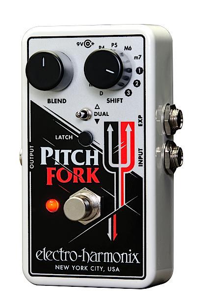 【在庫あり・即日出荷】【送料・代引き手数料無料】electro-harmonix 《ポリフォニック・ピッチシフター》 Pitch Fork (ピッチフォーク)/ Polyphonic Pitch Shifter 【正規輸入品】エレハモ / B9【KK9N0D18P】