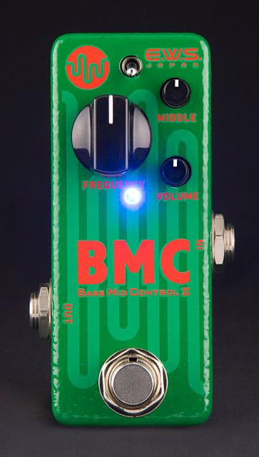 E.W.S. EWS BMC2 (Bass Mid Control 2) 《ベース・ミッド・コントロール2》