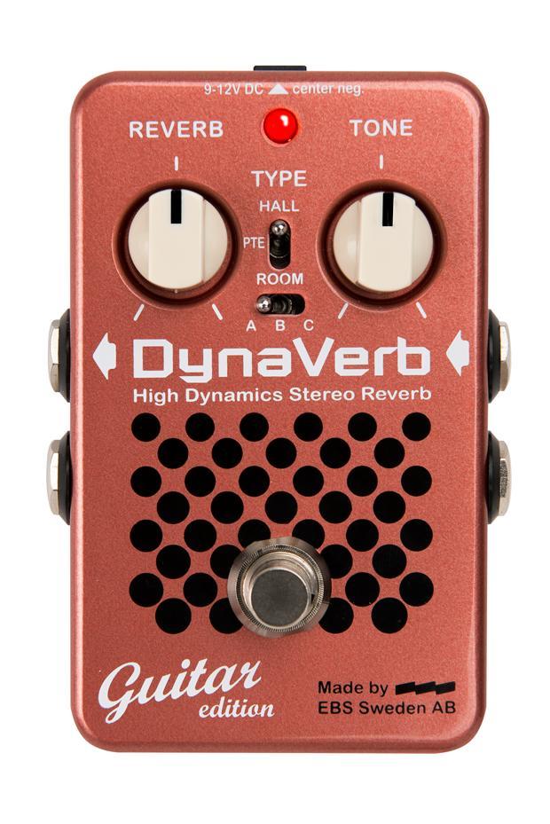 EBS DynaVerb Guitar edition DYNAVERB- High Dynamics Stereo Reverb《リバーブ》