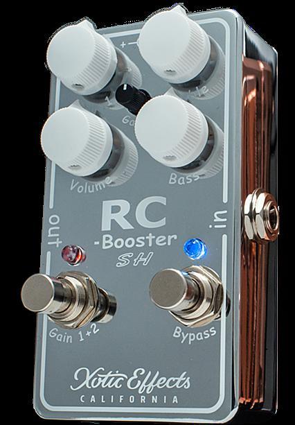 【在庫有り・即出荷!】Xotic 《ブースター》RC-Booster RCB-SH (Chrome) Scott Henderson Signature Model【Limited Edition】【送料無料!】 【KK9N0D18P】