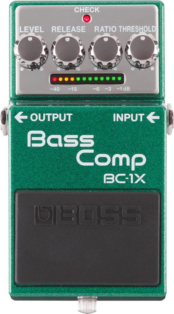 【お買い物マラソン実施!9日20:00~16日1:59迄】BOSS《ベース・コンプレッサー》BC-1X (Bass Comp)【KK9N0D18P】