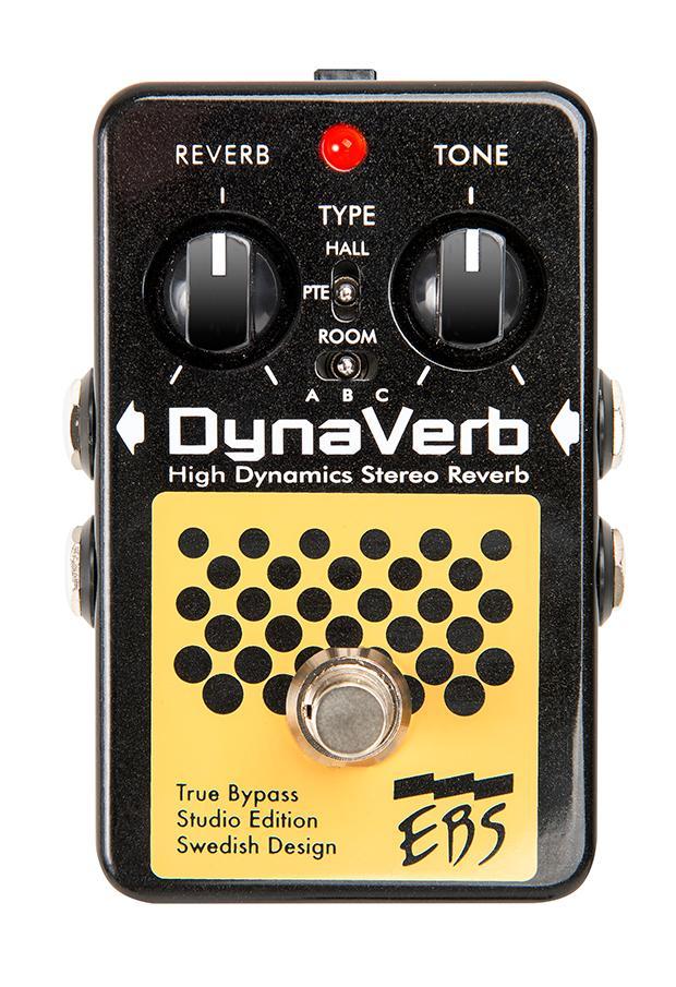 【お買い物マラソン実施!9日20:00~16日1:59迄】【在庫あり・即日出荷】EBS - High Dynamics Stereo Reverb DYNAVERB SE / Studio Edition 《リバーブ》 ダイナバーブ・スタジオエディション【KK9N0D18P】