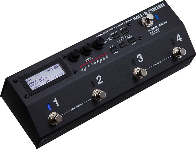 【在庫あります】【送料・代引き手数料無料!】BOSSMS-3 (MS3) 《Multi Effects Switcher / マルチ・エフェクツ・スイッチャー》【KK9N0D18P】