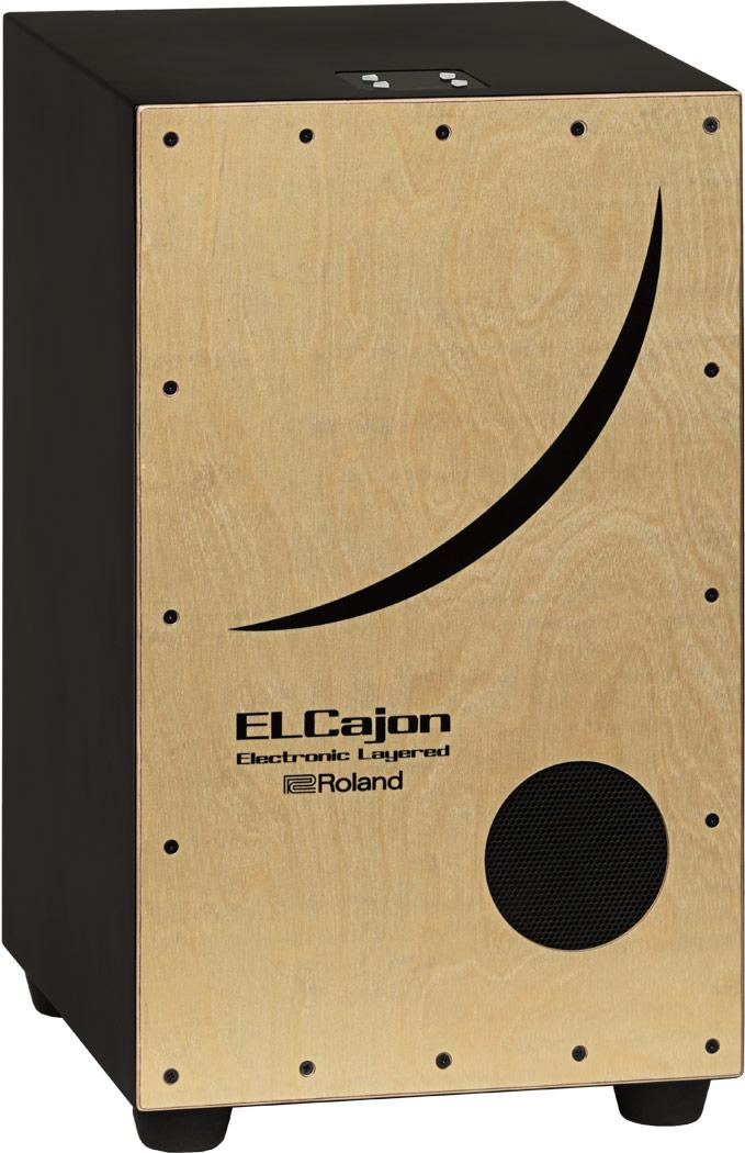 【在庫あり・即日出荷】 Roland【ELCajon / EC-10 Electronic Layerd Cajon】《エルカホン》エレクトリック/アコースティック・ハイブリッド・カホン 【KK9N0D18P】