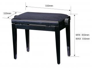 ピアノ椅子【KK9N0D18P】 KC【送料無料】こちらはベロア調です。 KC PT120A PT120A【KK9N0D18P】, カゾシ:14ef47b1 --- village-aste.fr