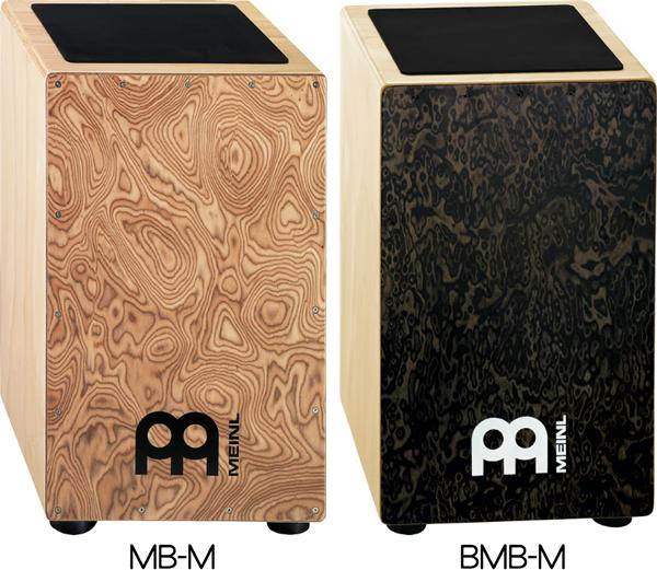 MEINL ボンゴカホン Natural/Ebony black matte BCA2NT/EBK-M 【マイネル パーカッション】