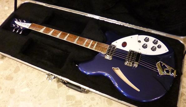【在庫あり、即日出荷】【新品】 Rickenbacker 360 MID Midnight Blue リッケンバッカー 360 ミッドナイトブルー【KK9N0D18P】