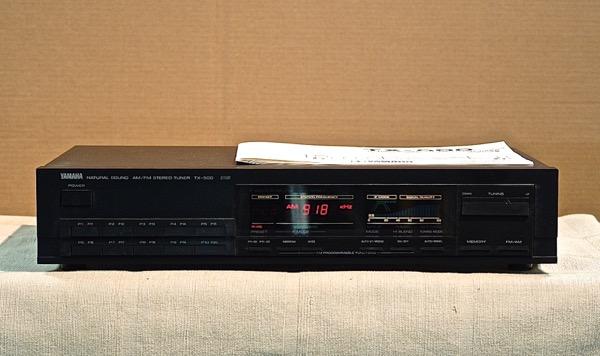 【中古】【送料無料】YAMAHA FM/AMチューナー TX-500