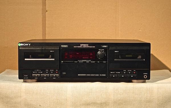 【中古】【送料無料】SONY Wカセットデッキ TC-WR965S