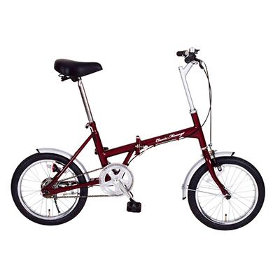 MG-CM16 折畳み・シングルギア 自転車 【メーカー直送】【カードOK】 365(ミムゴ) Classic Mimugo(クラッシックミムゴ)・商品サイズ:16インチ・サドル高さ:約65~86cm・商品重量:約13kg・材質:スチール(リム:アルミ合金)【KK9N0D18P】