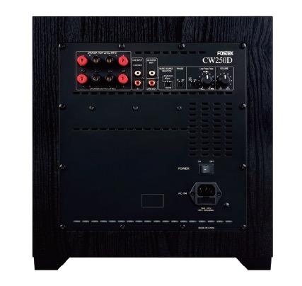 FOSTEX   アクティブ サブウーハー CW250D1台
