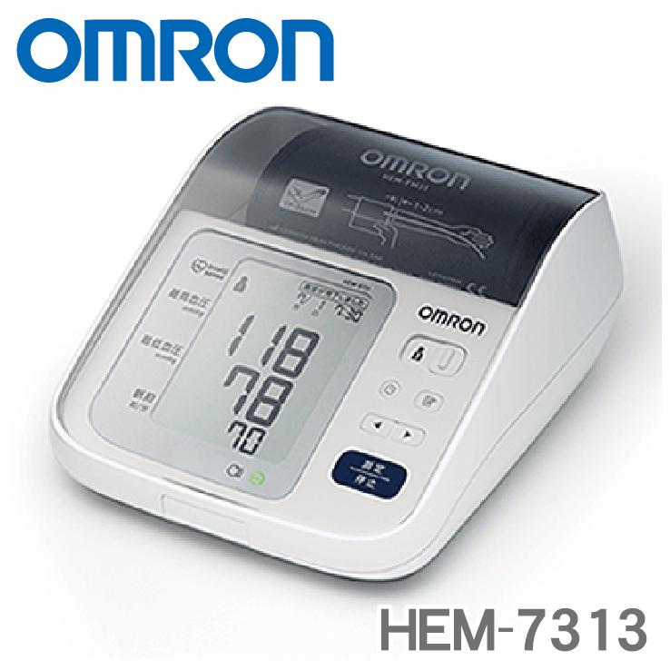 1年間の メーカー保証 付 ☆新作入荷☆新品 HEM-7313 オムロン 上腕式血圧計 ※2 あす楽対応 簡単に比較 KK9N0D18P 簡単に巻けて締めつけ感を軽減する 新作続 測定値を過去の記録と並べて e-フィットカフ 送料無料 omron