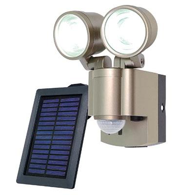 ESL-302SL solar generation-type LED sensor light ※1 エルパ ELPA 3W LED *2 light infrared passiveness-type power supply: NiMH charge pond 4.8V 1800mAh