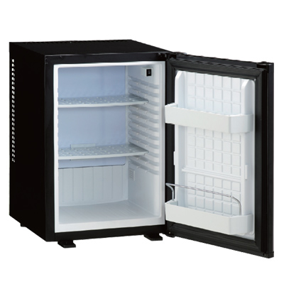ML-640B 寝室用冷蔵庫 【メーカー直送】 【送料無料】【カードOK】 三ツ星貿易 ・40L・ペルチェ式・寝室用・客室用 【KK9N0D18P】