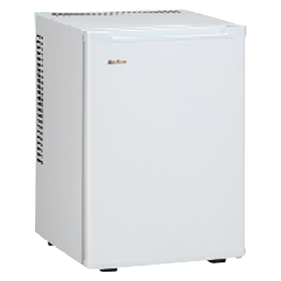 ML-640W 寝室用冷蔵庫 【メーカー直送】 【送料無料】【カードOK】 三ツ星貿易 ・40L・ペルチェ式・寝室用・客室用 【KK9N0D18P】