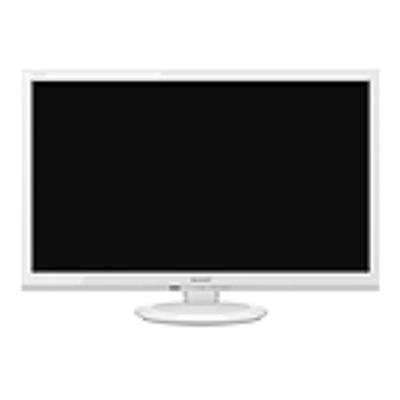 2T-C24AD-W シャープ 24V型ワイド液晶テレビ ※4 【送料無料】 ・AQUOS(アクオス)・ADライン・USB外付けハードディスク(別売)対応・LEDバックライト 【KK9N0D18P】