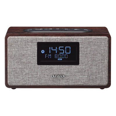 【開梱未使用品】アイワFR-BD20 クロック&FMラジオ付Bluetoothスピーカー ※2 【送料無料】フルレンジ (4.1cm) スピーカーダブル搭載・Bluetooth Ver4.2対応・【KK9N0D18P】【RCP】【endsale_18】