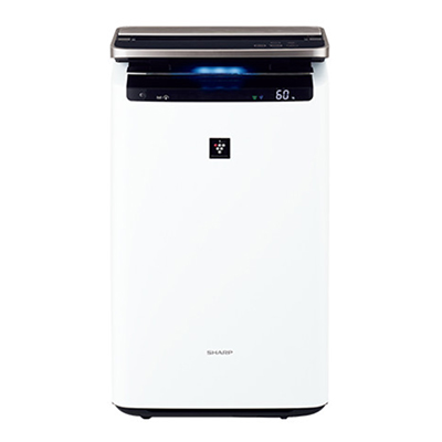 KI-HP100-W プラズマクラスター加湿空気清浄機 ※6 【送料無料】【カードOK】 シャープ ・プラズマクラスターNEXT搭載・COCORO AIR 対応・空気清浄適用床面積(目安):~41畳 【KK9N0D18P】