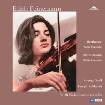 エディト・パイネマン / ベートーヴェン: ヴァイオリン協奏曲 Op.61; メンデルスゾーン: ヴァイオリン協奏曲 Op.64 完全限定生産盤 2LP【KK9N0D18P】