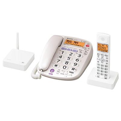 JD-VF1CL デジタルコードレス電話機(接続機+大きな子機+子機) ※2 【カードOK】 シャープ ・子機だけでなく電話機本体も置き場所を選べる 【KK9N0D18P】