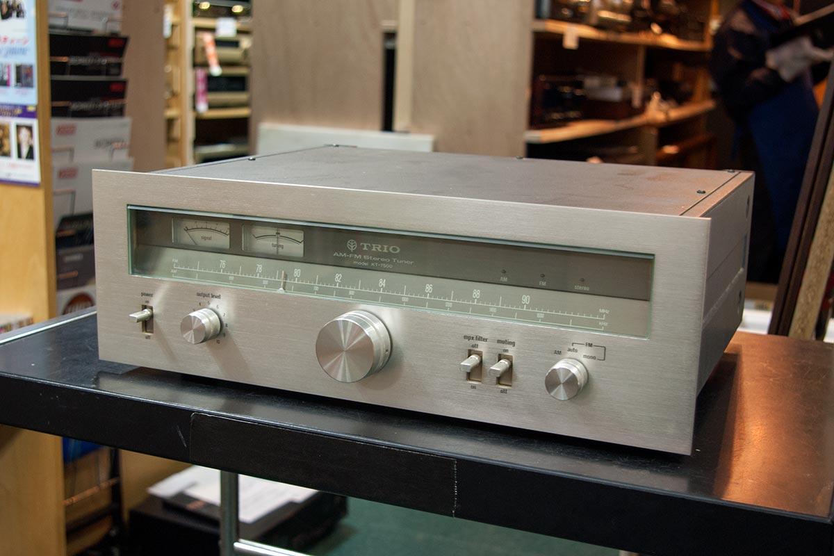 【中古】【送料無料】 トリオ TRIO FM/AMチューナー KT-7500 【02P05Nov16】【KK9N0D18P】